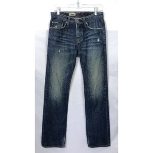 AG The Protege Distressed Straight Leg Jeans 28x34